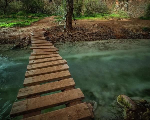 Ryan Kelehar - Bridge to Paradise Print