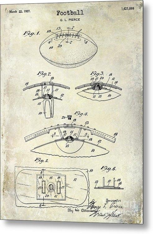 Jon Neidert - 1927 Football Patent Draw... Print