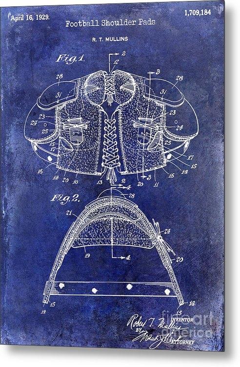 Jon Neidert - 1929 Football Shoulder Pa... Print