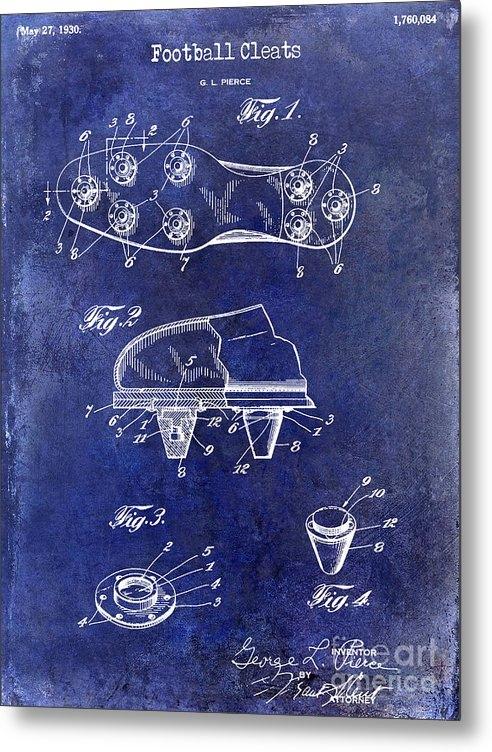 Jon Neidert - 1930 Football Cleats Pate... Print