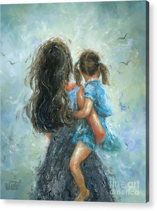 Vickie Wade - Mother and Daughter, Momm... Print