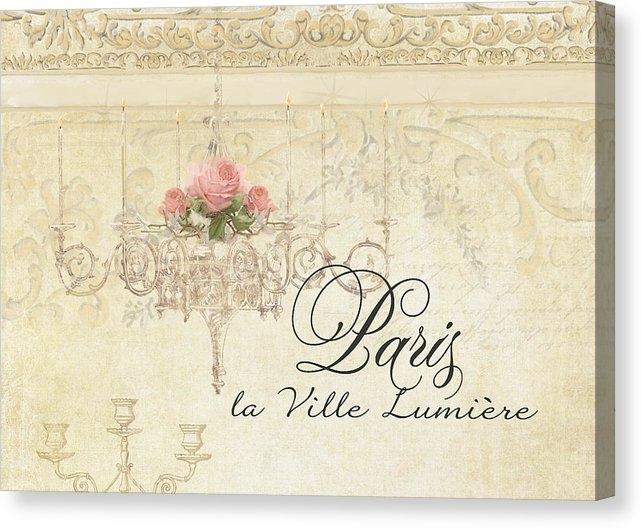 Audrey Jeanne Roberts - Parchment Paris - City of... Print