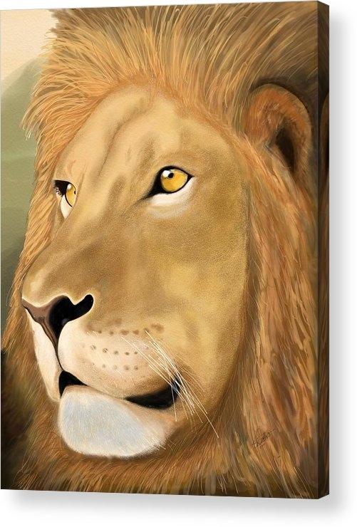 Gloria Dattolo - Majestic Lion Print
