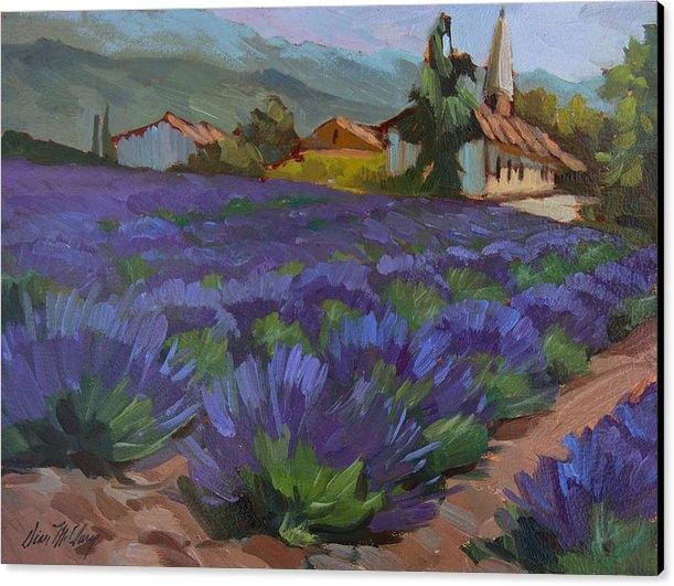 Diane McClary - Lavandin en Fleur Print