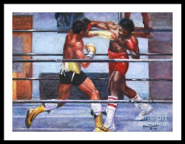 Bill Pruitt - The Favor - Rocky 3 Print