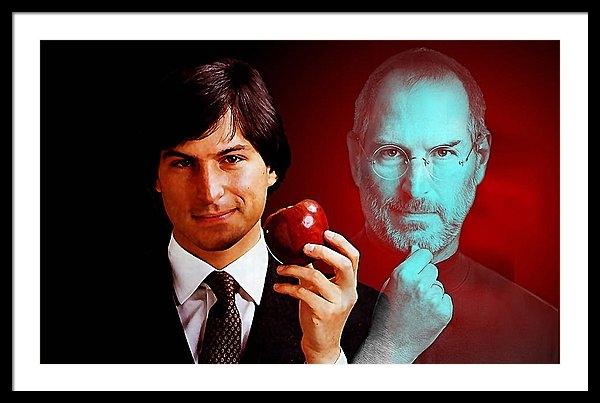 Marvin Blaine - Steve Jobs Print
