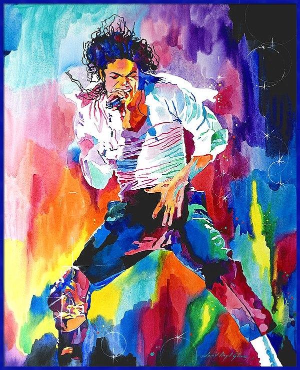 David Lloyd Glover - Michael Jackson Wind Print