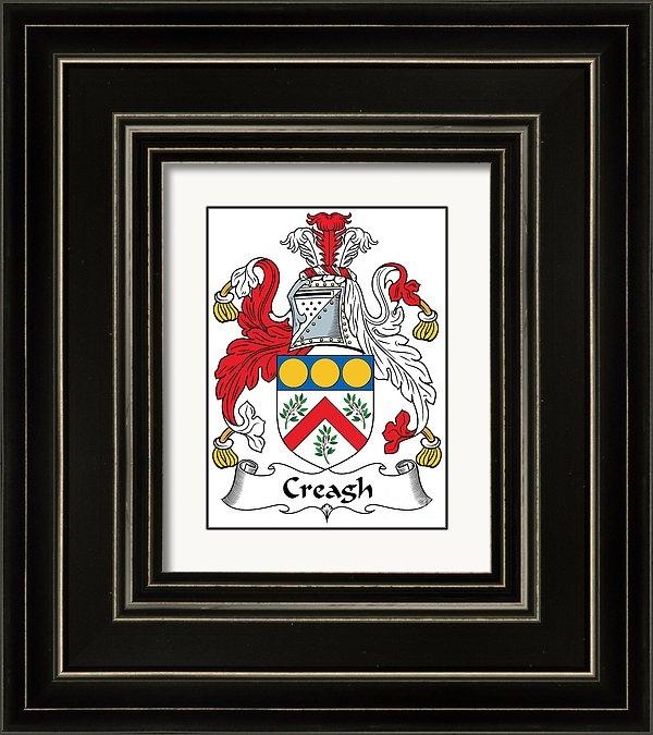 Heraldry - Creagh Coat of Arms II Ir... Print