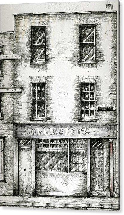 Brendan Lynch - Cobblestone Pub Dublin Ir... Print