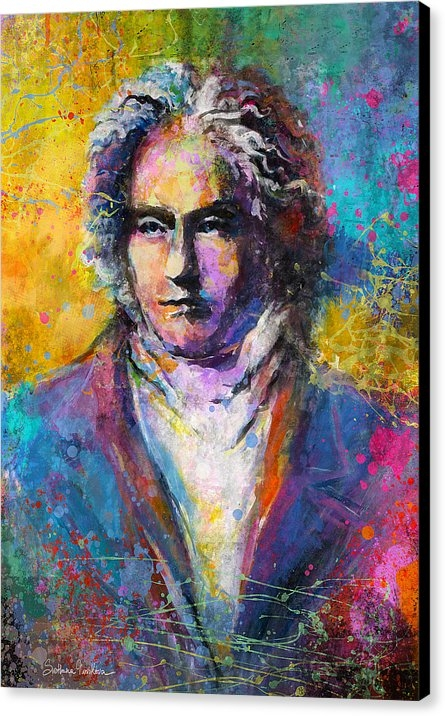 Svetlana Novikova - Ludwig Van Beethoven port... Print