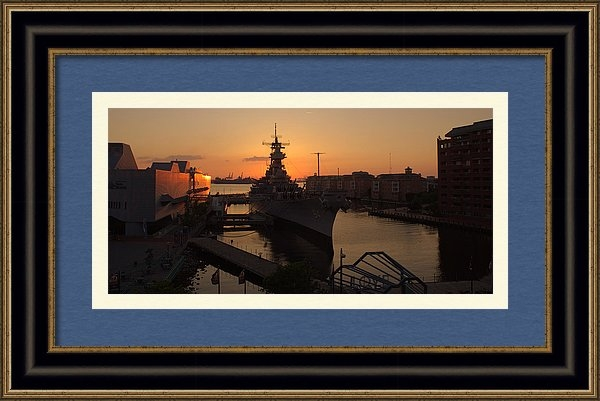 Shannon Louder - Sunset behind the Wiscons... Print