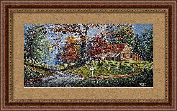 Gary Adams - Country Life Print