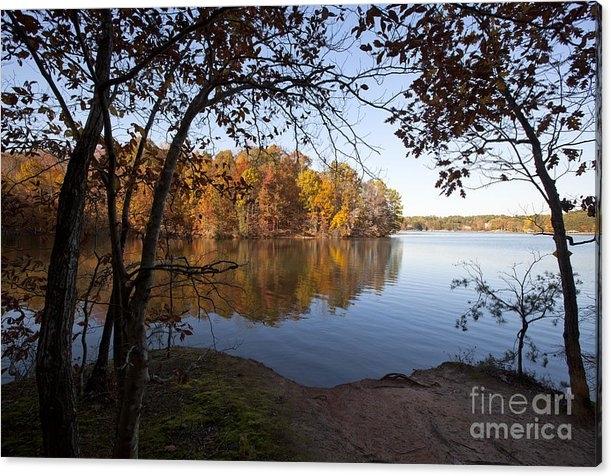 Jonathan Welch - Autumn on Lake Norman Print