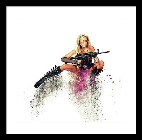 Stephen Smith - Action Girl Print