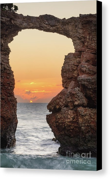 Ernesto Ruiz - Cabo Rojo Arch Sunset Print