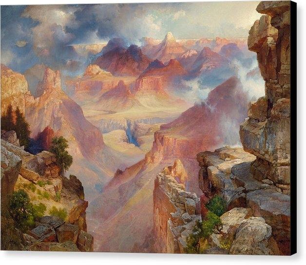 Thomas Moran - Grand Canyon of Arizona a... Print