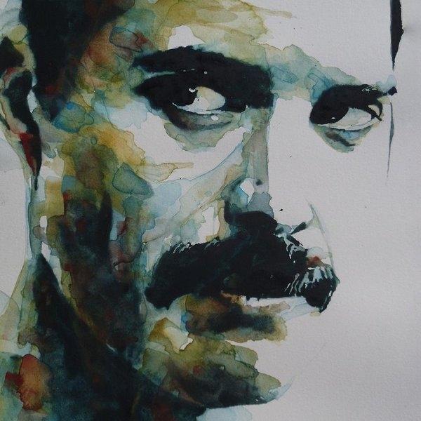 Paul Lovering - Freddie Mercury Print