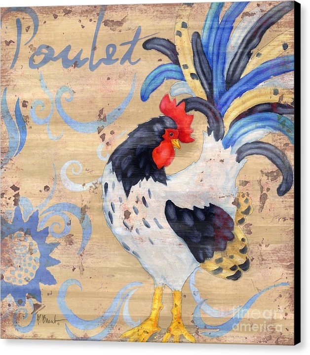 Paul Brent - Royale Rooster IV Print