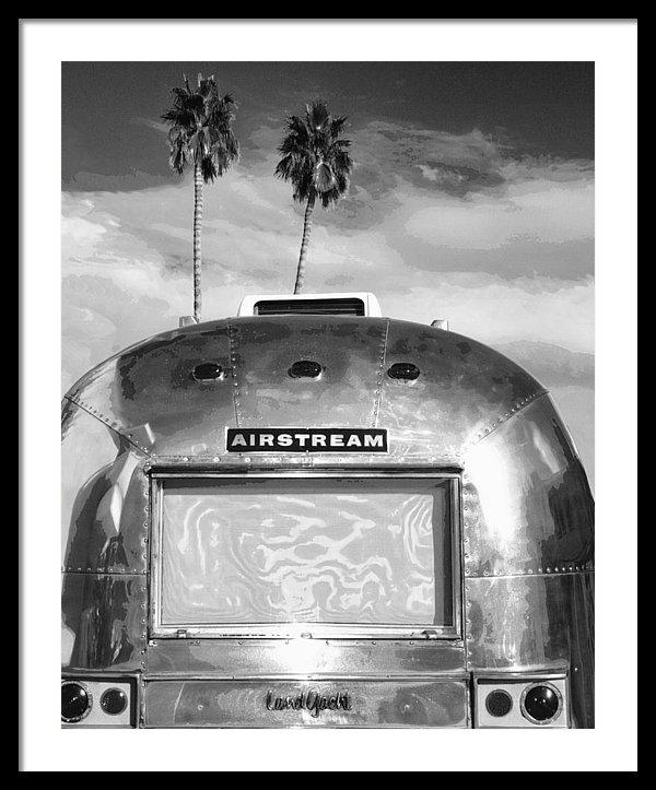 William Dey - LAND YACHT BW Palm Spring... Print