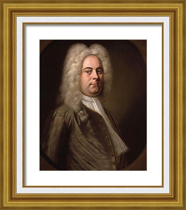 Balthasar Denner - Portrait of Georg Friedri... Print