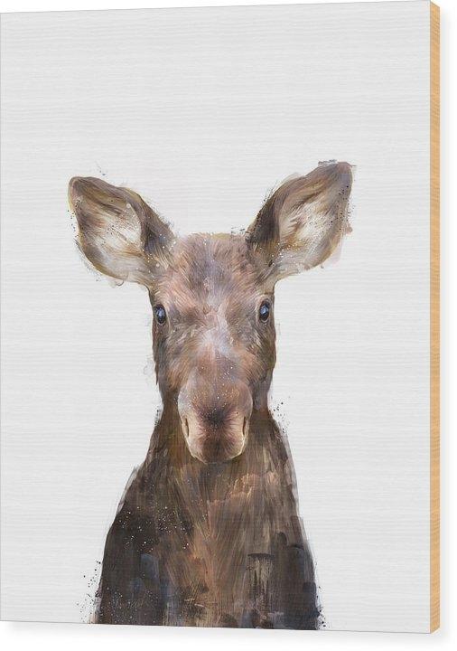Amy Hamilton - Little Moose Print