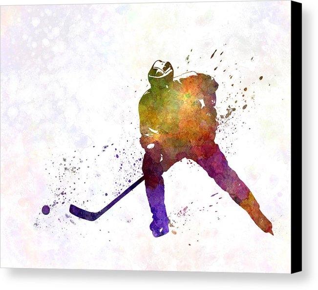 Pablo Romero - Skater of Hockey in water... Print