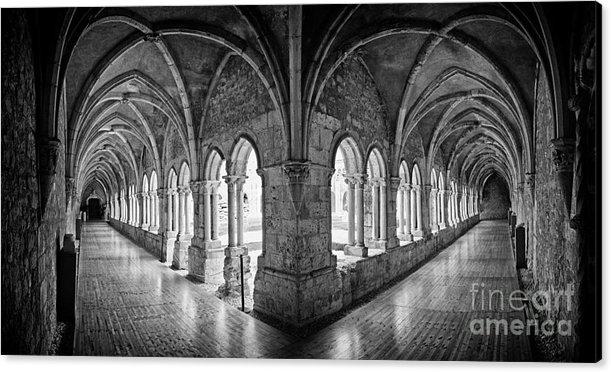 Jose Elias - Sofia Pereira   - 13th century Gothic Clois... Print