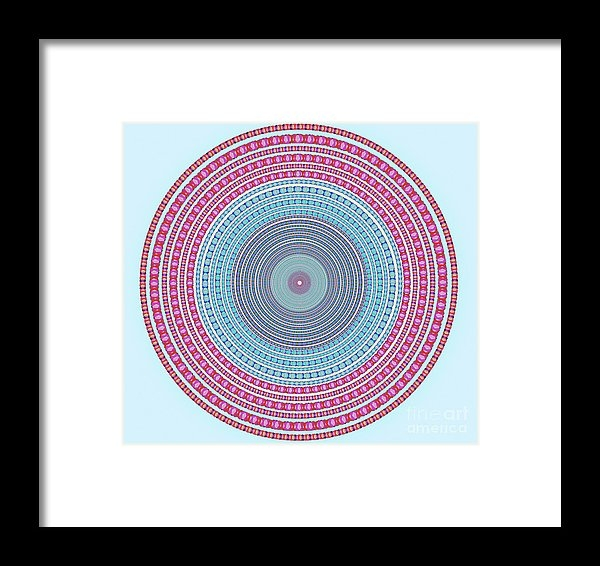 Atiketta Sangasaeng - Vintage Color Circle Print