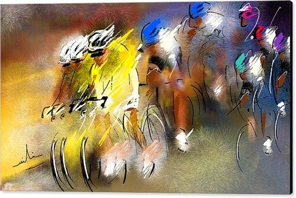 Miki De Goodaboom - Le Tour de France 05 Print