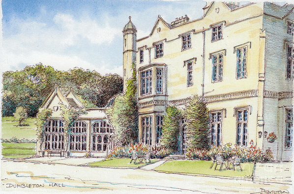 Richard Skilton - Dumbleton hall Gloucester... Print