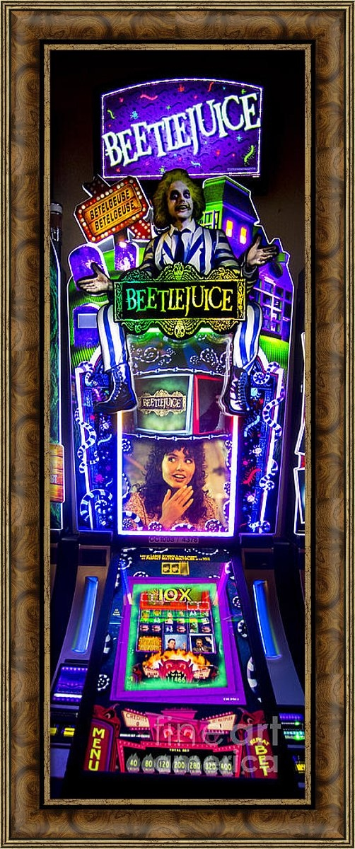 David Oppenheimer - Beetlejuice Slot Machine ... Print
