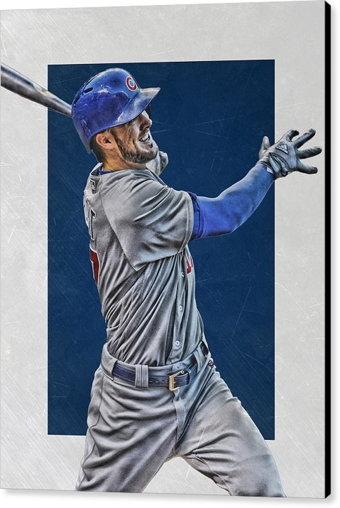 Joe Hamilton - Kris Bryant Chicago Cubs ... Print