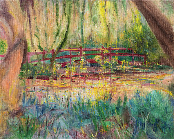 Kathy Knopp - Red Bridge Print