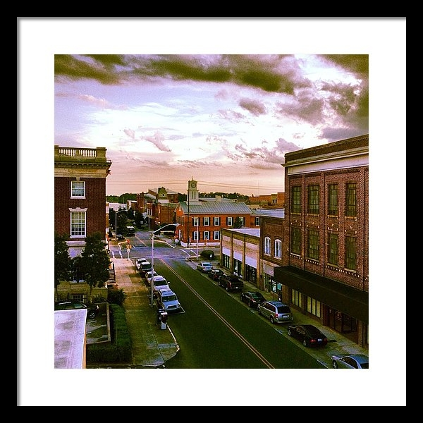 Joan Meyland - Downtown Washington NC Print