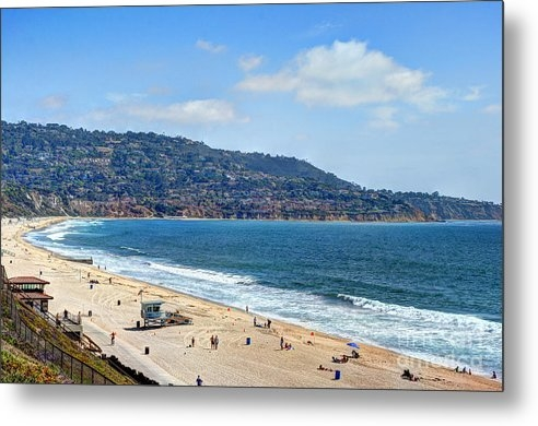 K D Graves - Torrance Beach California Print