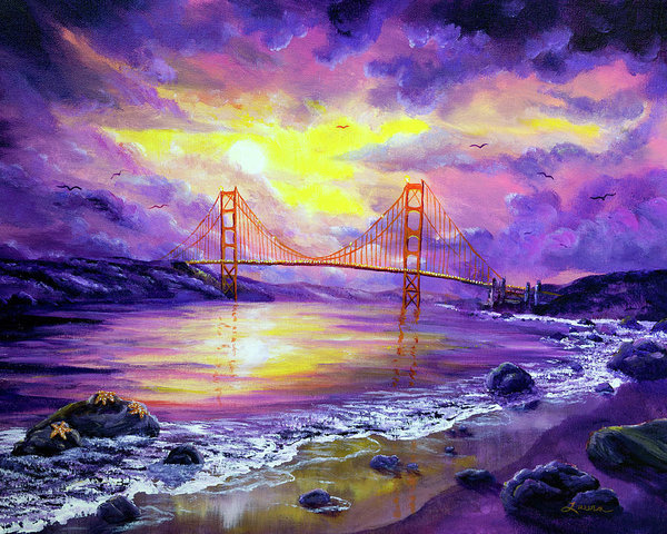 Laura Iverson - Dreaming of San Francisco Print