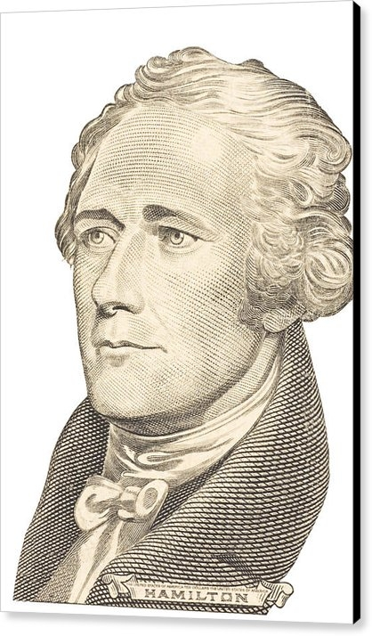 Keith Webber Jr - Portrait of Alexander Ham... Print