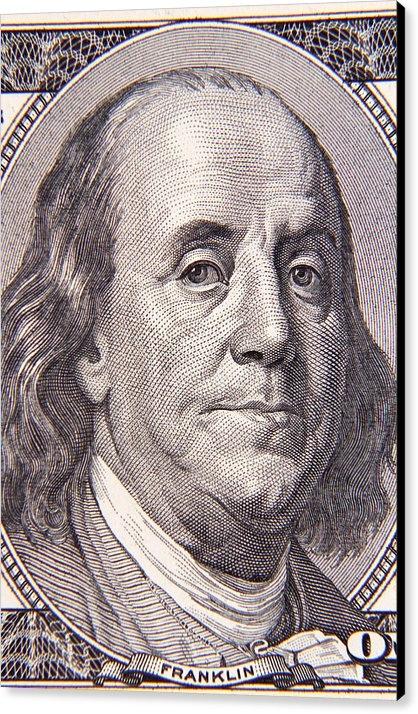 Les Cunliffe - Benjamin Franklin Print
