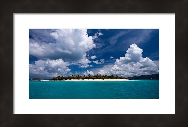 Adam Romanowicz - Paradise is Sandy Cay Print