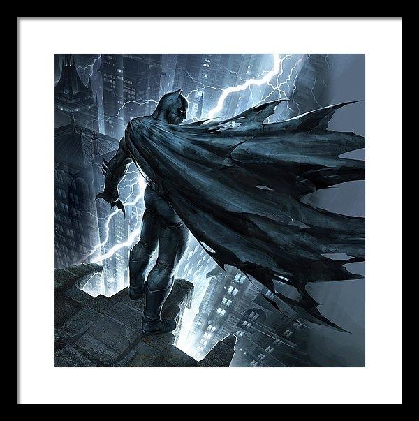 Caio Caldas - Batman The Dark Knight Re... Print
