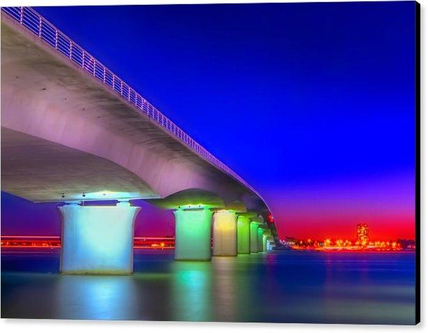 Marvin Spates - Ringling Bridge Print