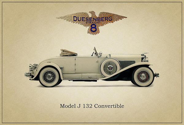 Ambro Fine Art - 1929 Duesenberg Model J 1... Print