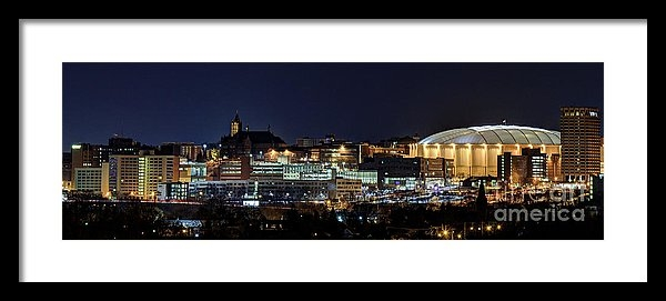 Rod Best - Carrier Dome and Syracuse... Print