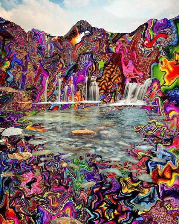 James Ricca - Waterfall Print