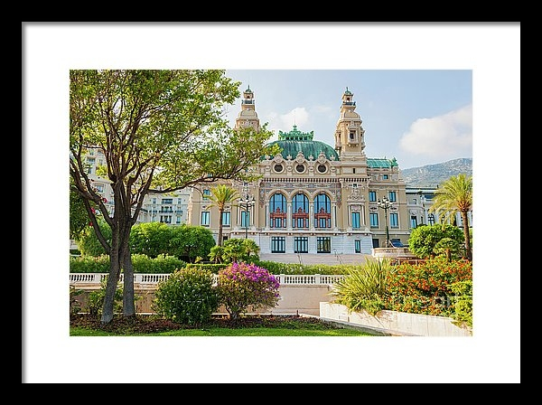 Elena Elisseeva - Monte Carlo Casino Print