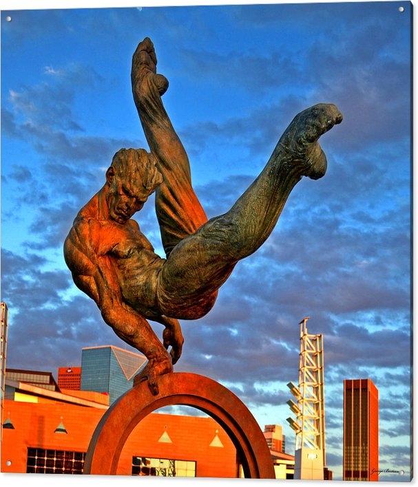 George Bostian - Centennial Park Statue 00... Print