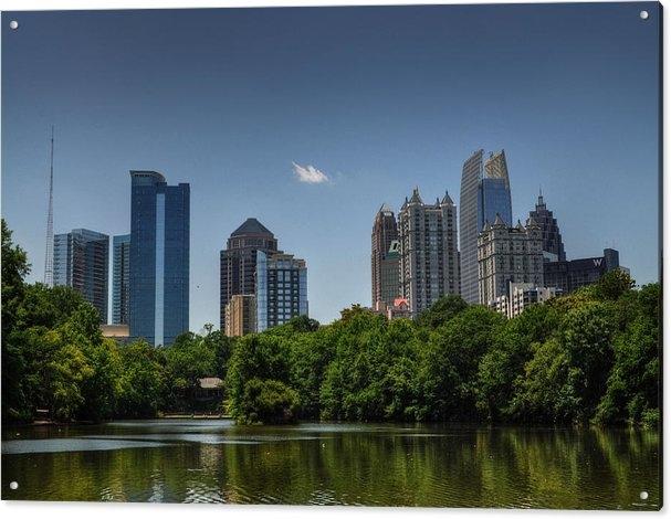 Georgia Fowler - Midtown Atlanta Skyline Print