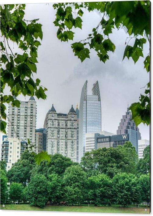 Douglas Barnett - A Peek at the Atlanta Sky... Print