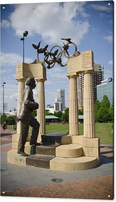 Jessica Berlin - Centennial Olympic Park S... Print
