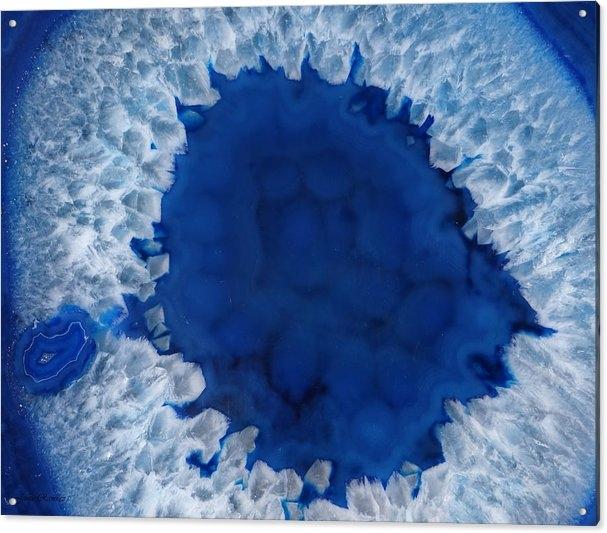Jamie Ramirez - Brazilian Blue Agate Print